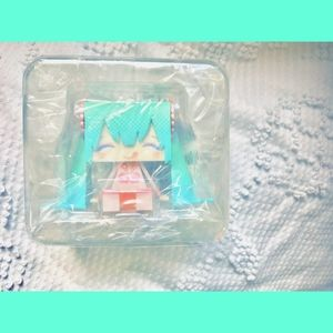 💙Rare Hatsune Miku plastic mascot
